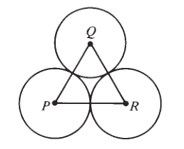 #GREpracticequestion Equilateral triangle PQR is formed by joining.jpg